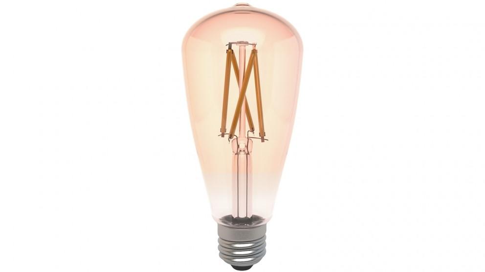 Connect Smart E27 ST64 Filament Bulb Amber