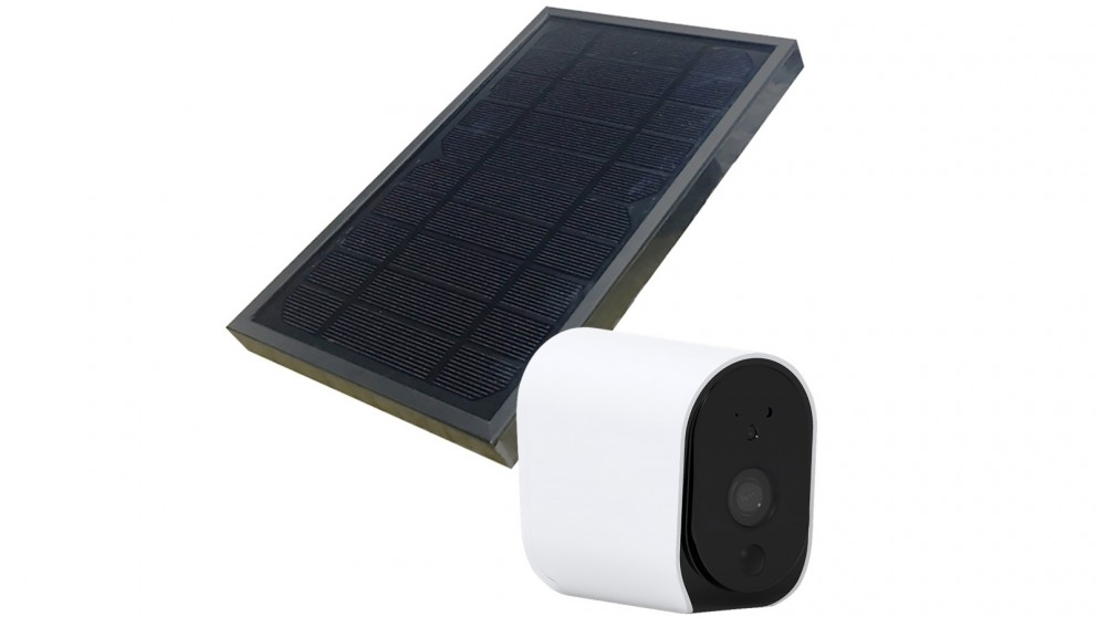 Connect Smart Outdoor 1080p Camera with Solar Panel