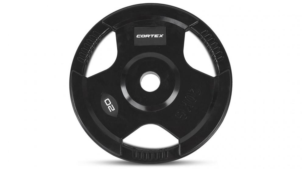 Cortex 1x Tri-Grip Olympic Plates - 20kg