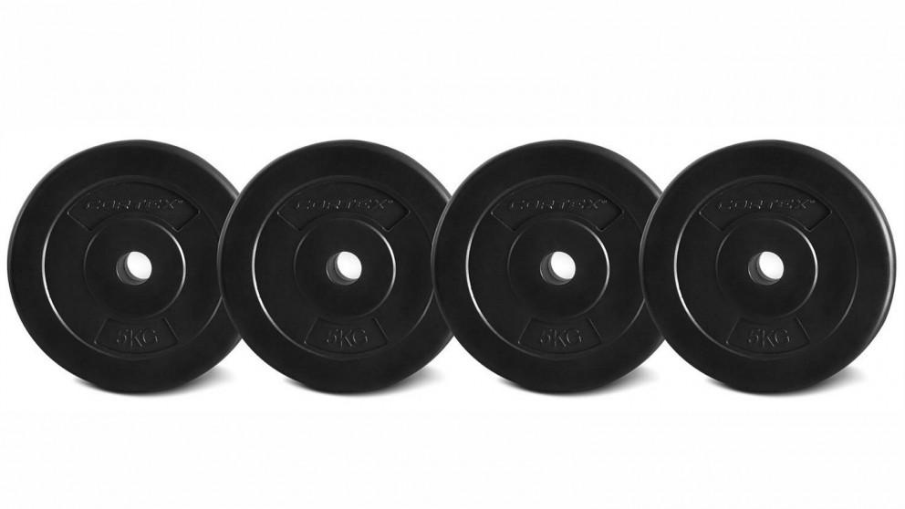 Cortex 4x EnduraShell 25mm Plates - 5kg