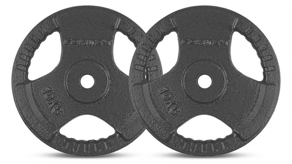 Cortex 2x Tri-Grip 25mm Standard Plates - 10kg