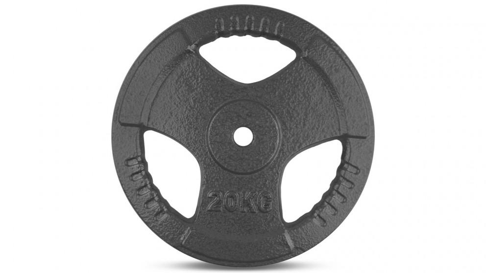 Cortex 1x Tri-Grip 25mm Standard Plate - 20kg
