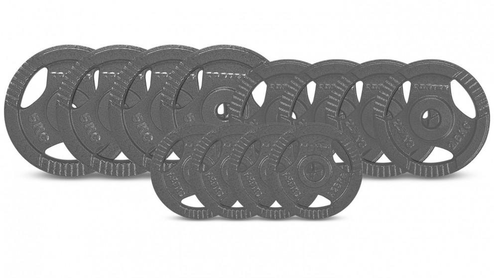 Cortex Tri-Grip 25mm Weight Plates - 35kg