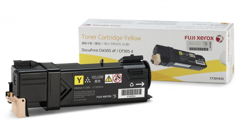Fuji Xerox CT201635 Toner Cartridge - Yellow