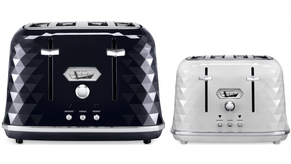 Delonghi Brillante Exclusive 4 Slice Toaster