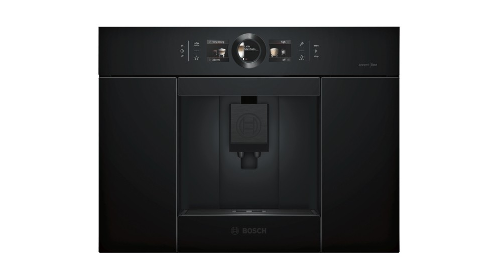 Bosch AccentLine Carbon Built-in Fully Automatic Coffee Machine