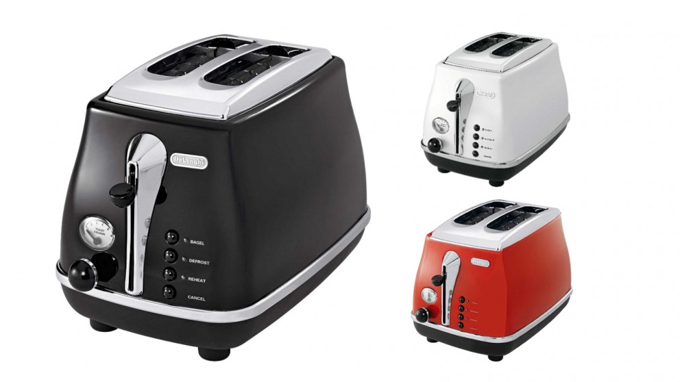 De'Longhi Icona 2 Slice Toaster