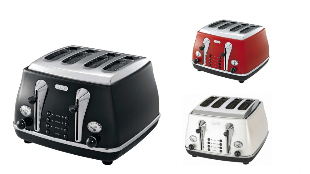Delonghi Icona 4 Slice Toaster