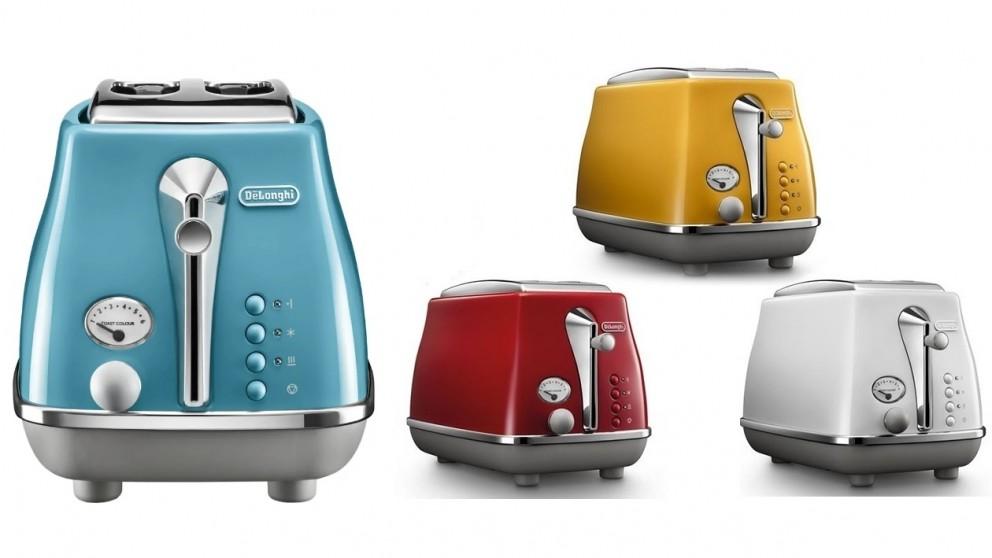 DeLonghi Icona Capitals 2 Slice Toaster