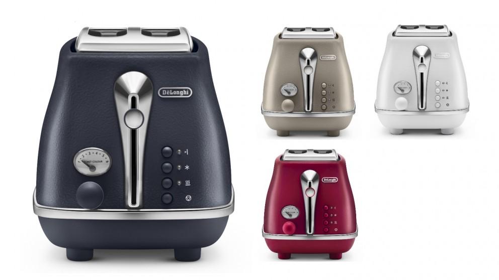 De'Longhi Icona Elements 2 Slice Toaster