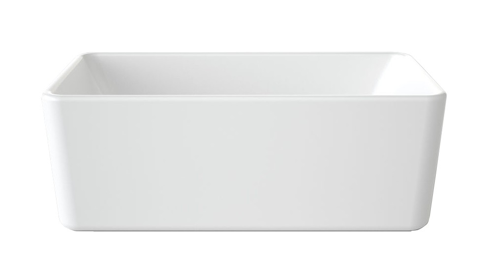 Caroma Cube 1600mm Freestanding Bath
