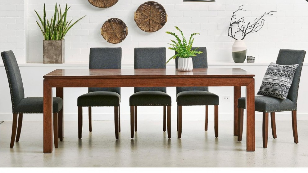 Buy Cube 9 Piece Rectangular Dining Suite Harvey Norman AU