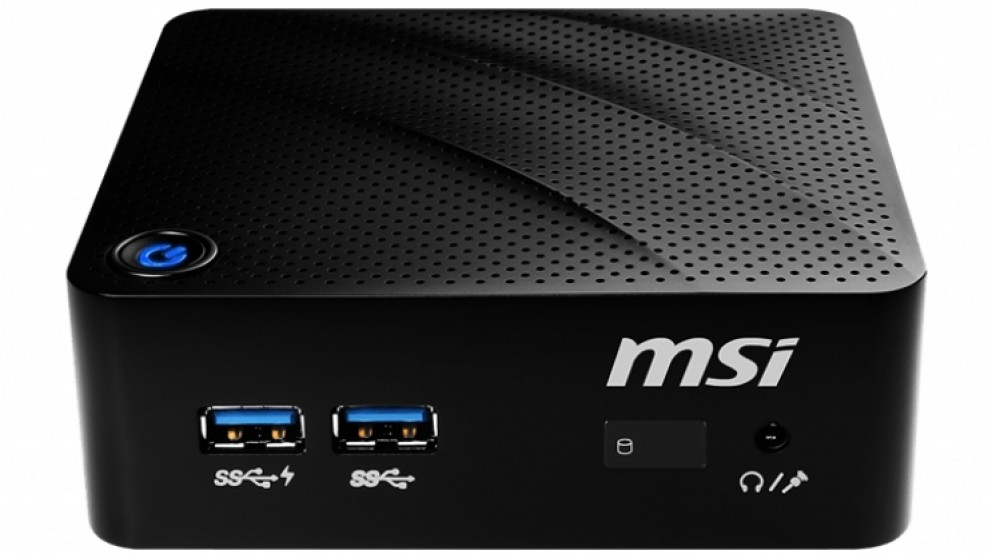 MSI Cubi N N4000/4GB/120GB/W10 Mini PC