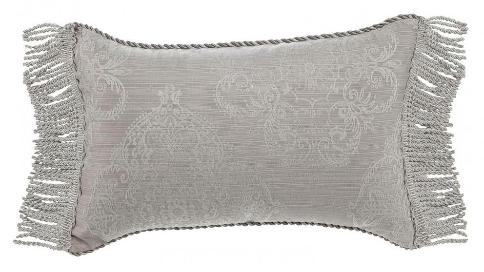 Eleanor Rectangular Silver Cushion