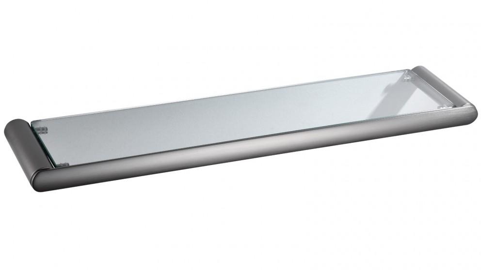 PLD Cove Glass Shelf - Gunmetal Grey