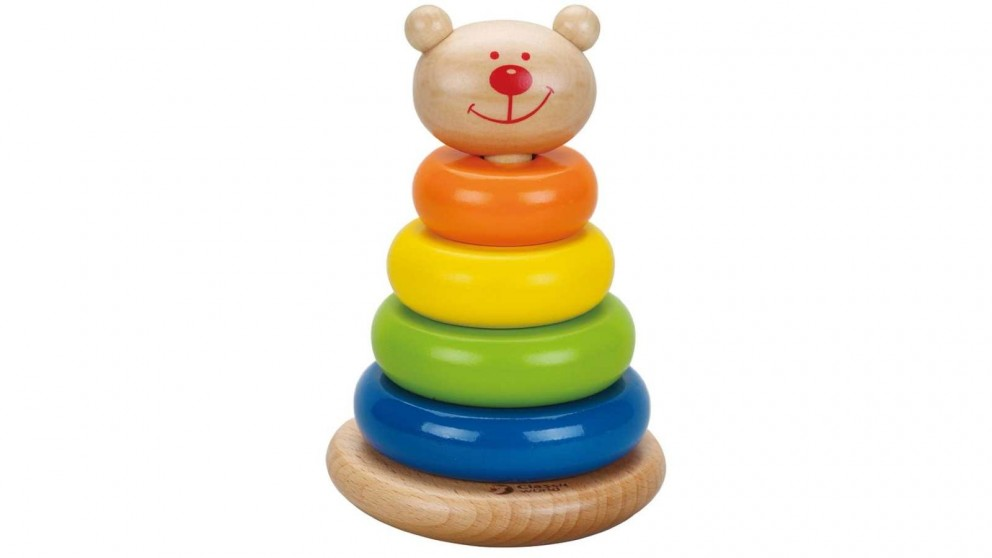 Classic World Activity Toy Stacking Bear Tower