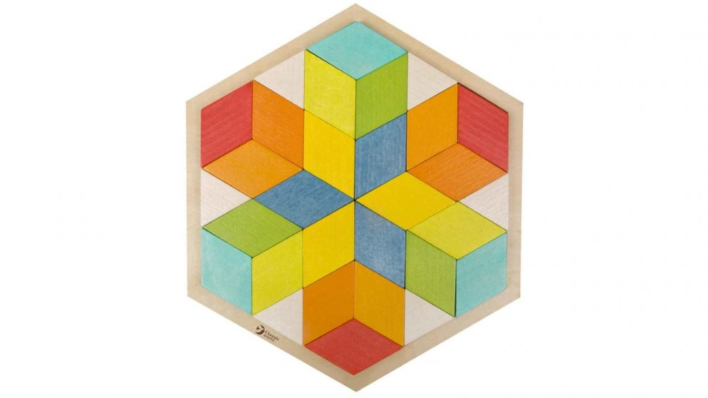 Classic World Puzzle Blocks 3D Puzzle