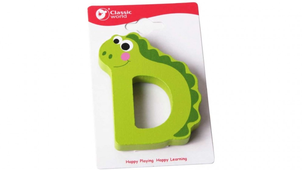 Classic World Alphabet Letter D