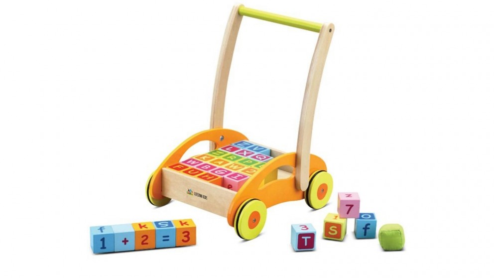 Lifespan Kids Classic World Baby Walker with Blocks