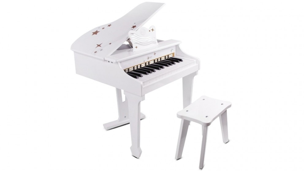 Classic World Grand Piano - White