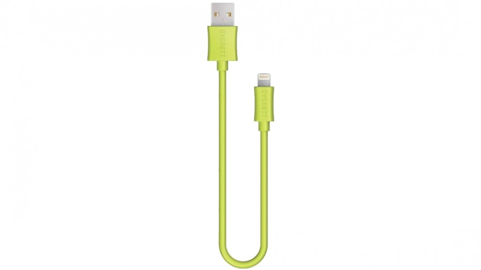 Cygnett Source 1.2m Lightning to USB Charge and Sync Cable - Green