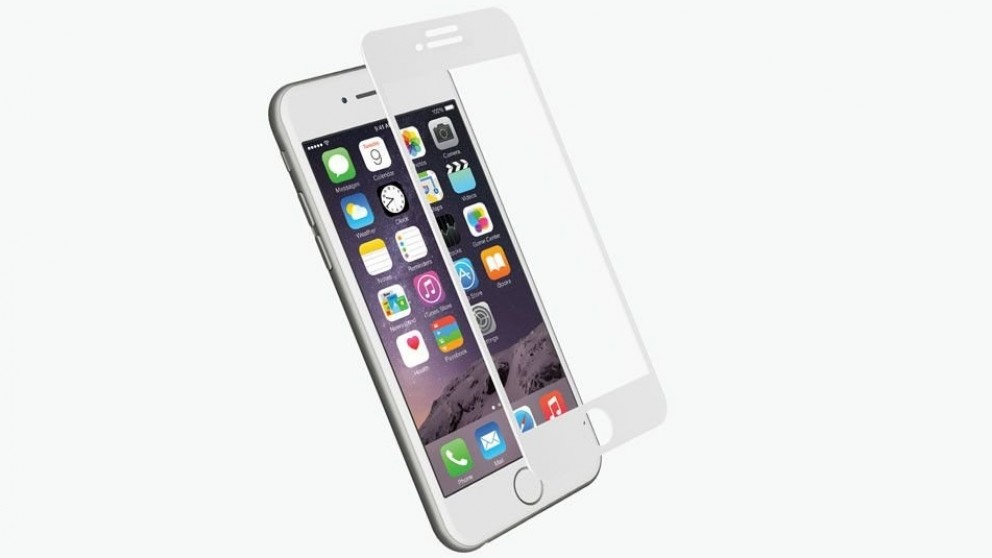 Cygnett RealCurve Tempered Glass Screen Protector for iPhone 7 Plus - White