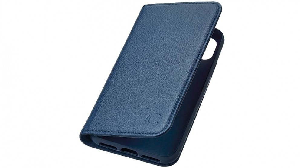 Cygnett CitiWallet Leather Case for iPhone Xs/X - Navy
