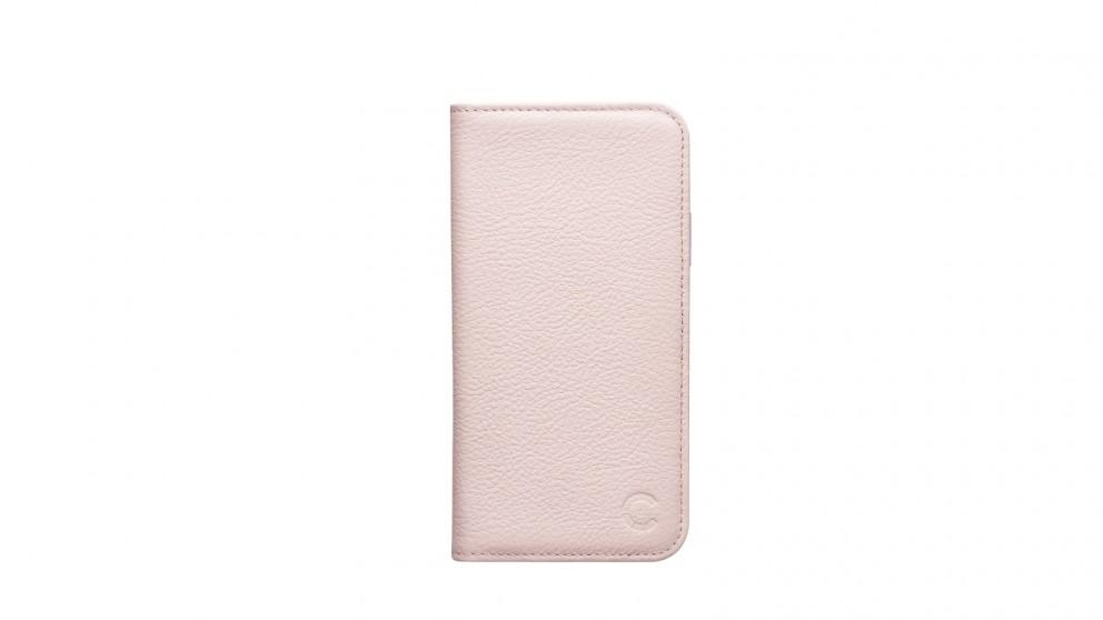Cygnett CitiWallet Premium Leather Case for iPhone 8 - Pink Sand
