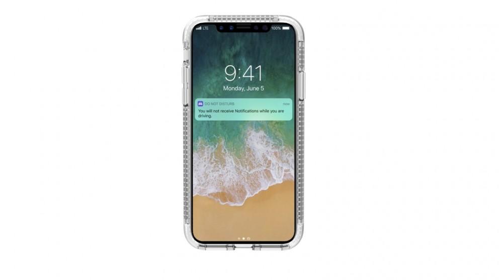 Cygnett Orbit High Performance Case for iPhone X - Crystal