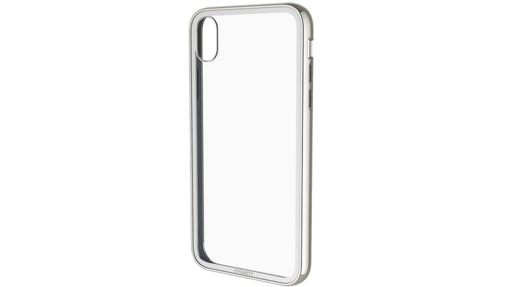 Cygnett Ozone Tempered Glass Case for iPhone XR - Silver