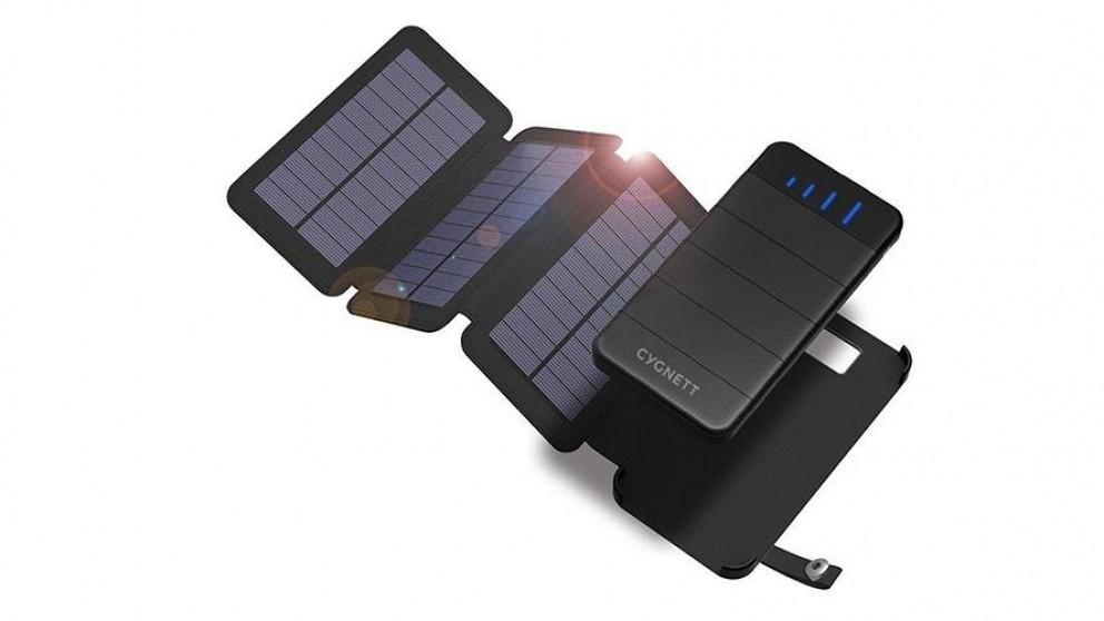 Cygnett ChargeUp Explorer 8000mAh Power Bank with Solar Panels