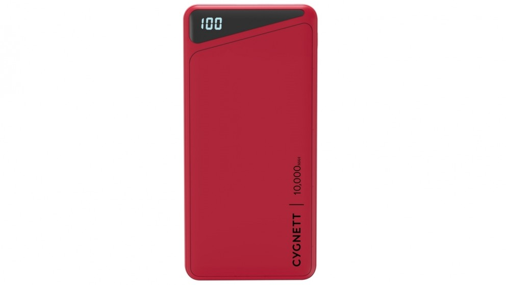 Cygnett ChargeUp Boost 2 10000mAh Power Bank - Red