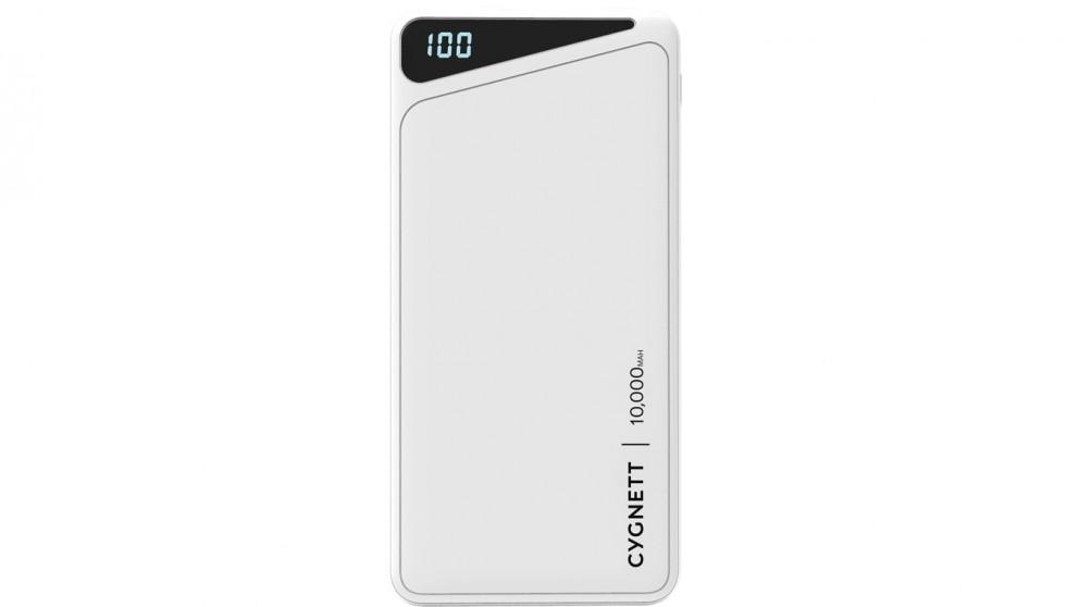 Cygnett ChargeUp Boost 2 10000mAh Power Bank - White
