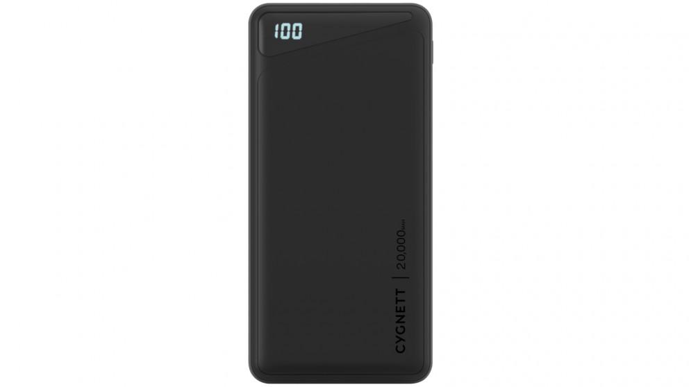 Cygnett ChargeUp Boost 2 20000mAh Power Bank - Black