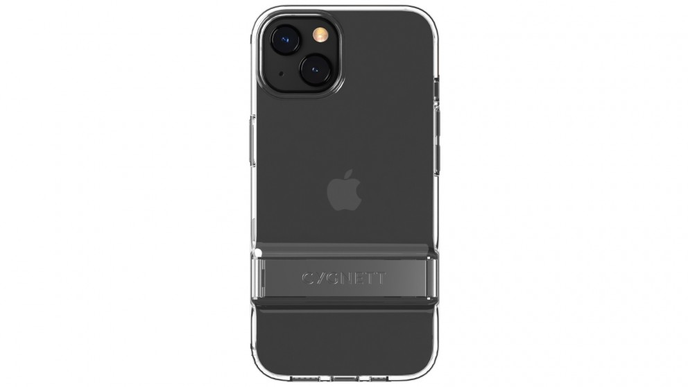 Cygnett AeroStand Case for iPhone 13 - Clear