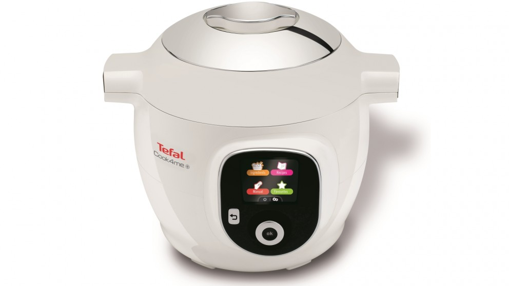 Tefal Cook4Me+ 6L Pressure Cooker - White
