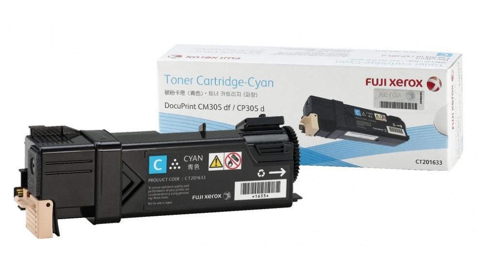 Fuji Xerox CP305 Printer Cartridge - Cyan