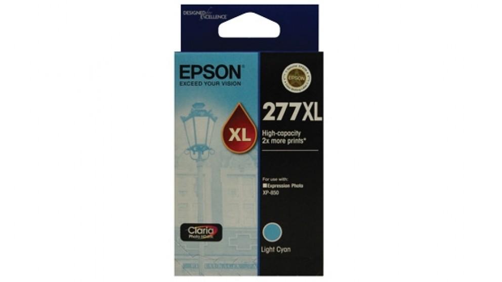 Epson 277XL High Capacity Claria Photo HD Ink Cartridge - Light Cyan