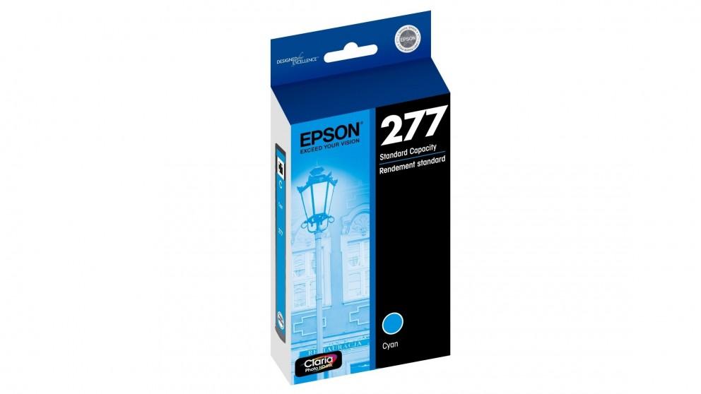 Epson 277 Std Capacity Claria Photo HD Ink Cartridge - Cyan