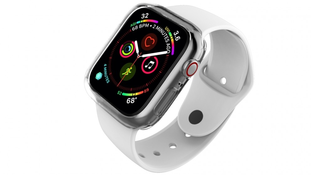 superior quality b18f0 8e43d Cygnett AeroFlex Protective Bumper Case for Apple Watch Series 4 44mm