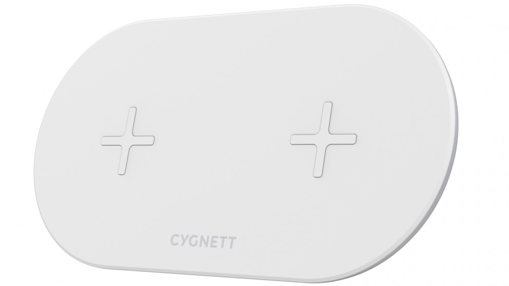 Cygnett TwoFold 10W Dual Wireless Charger
