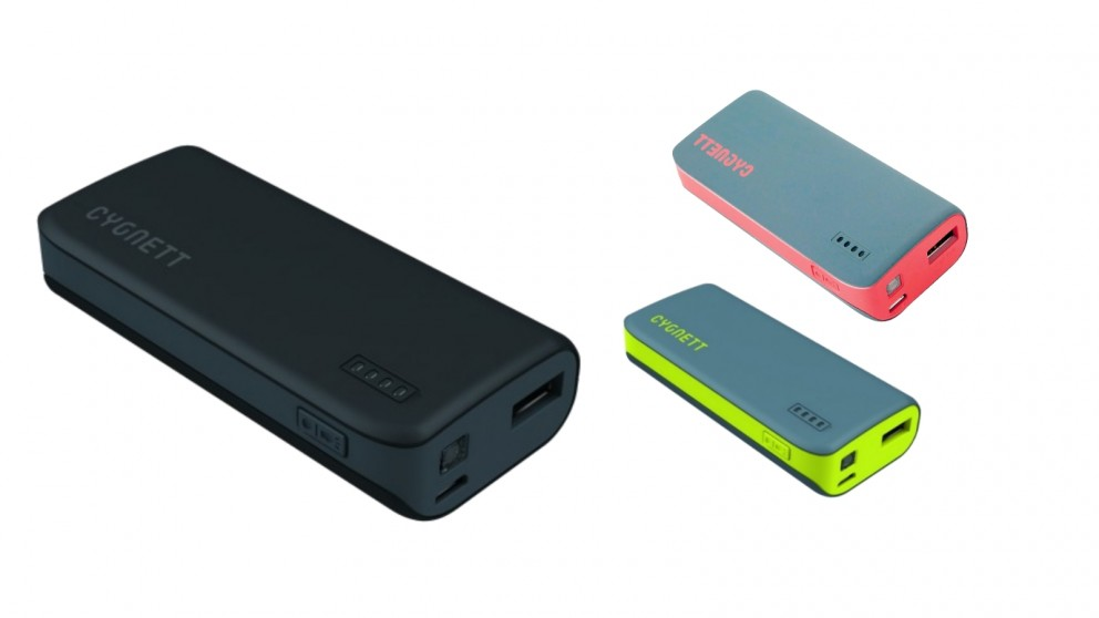 Cygnett ChargeUp Sport 4400mAh Power Bank