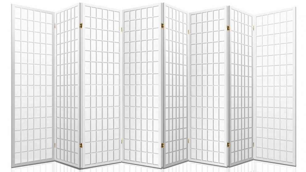 Artiss 8 Panel Room Divider Oriental - White