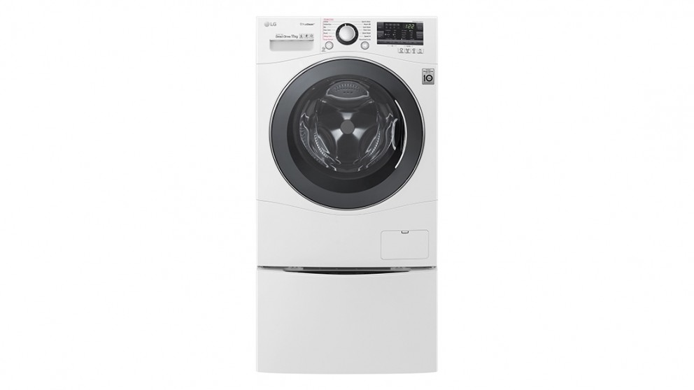 LG Twin Wash 11kg Front Load Washer with 2kg Mini Washer