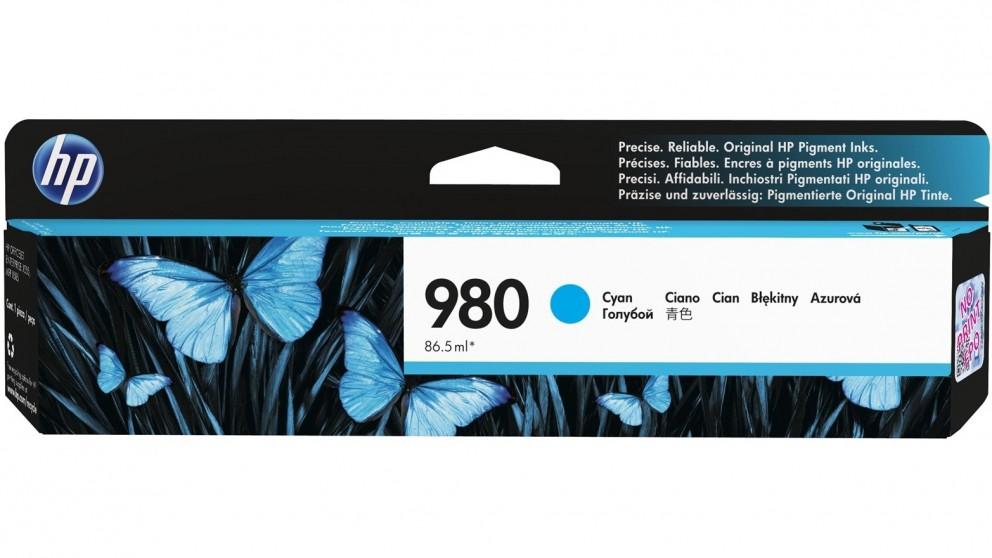 HP 980 Cyan Ink Cartridge