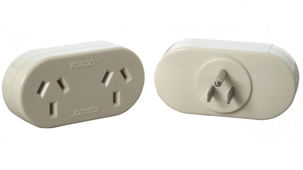 Korjo Double Travel Adapter for USA