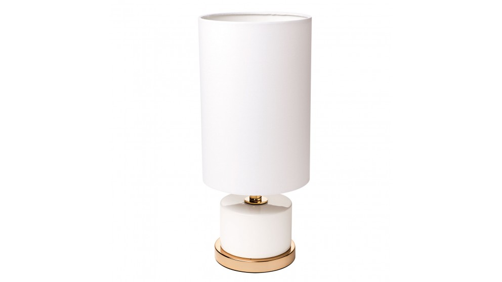 Dahlia White Table Lamp