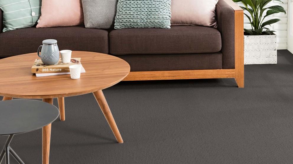 Karastan Soft Transition Dark Musk Carpet Flooring
