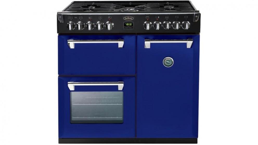 Belling 900mm Richmond Colour Boutique Dual Fuel Range Freestanding Oven - Midnight Gaze
