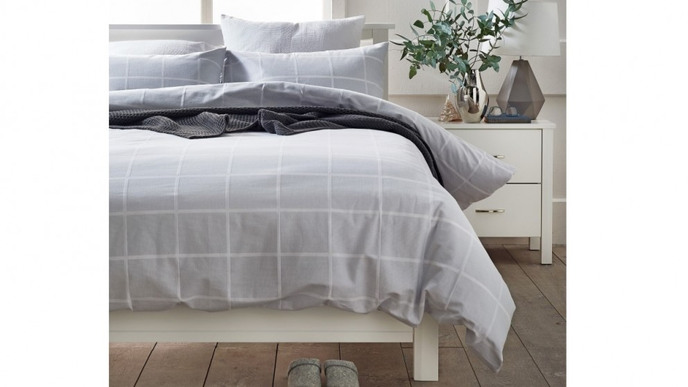 David Grey King Quilt Cover Set
